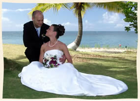 married by a palm tree in st thomas