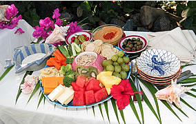 snack platter catering st thomas