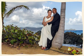 Married at Sapphire Beach St Thomas