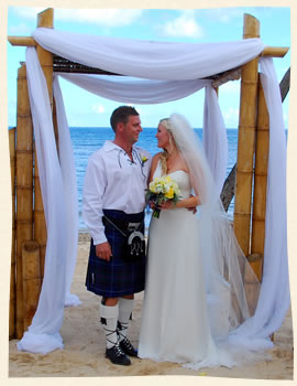 Married at Bolongo Bay