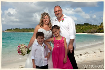 St. Thomas Private Beach Wedding