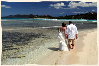 Married on Lindquist Beach St Thomas
