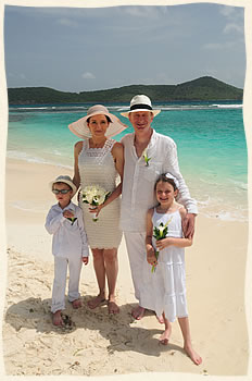 Vow Renewal at Lindquist Beach St. Thomas
