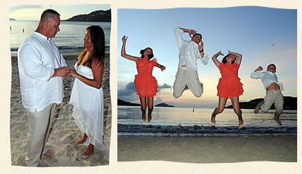 Magens Beach Wedding