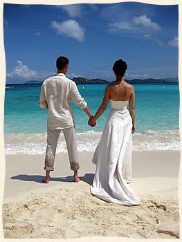 Married in the Virgin islands.