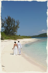 wedding at lindquist beach st thomas virgin islands