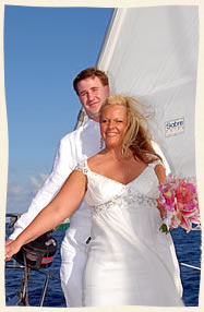 st thomas sailboat wedding