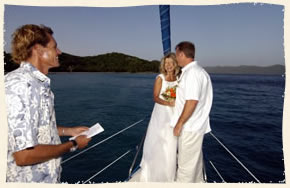 married on a boat in st thomas