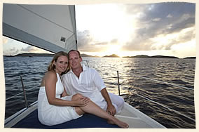 weddings at sea in the virgin islands