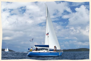 sailing wedding virgin islands