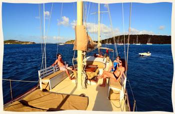 St. Thomas Sail Wedding