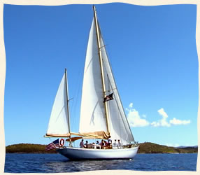 Wedding Sailing St. John