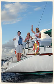 sailing weddings virgin islands