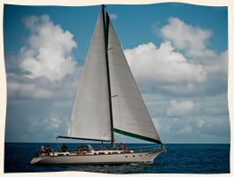 Sailing St Thomas Weddings at Seas