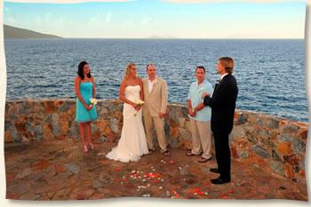 St Thomas Villa Wedding Virgin Islands Villa Wedding